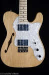 Fender Classic Series '72 Telecaster Thinline, Maple Fingerboard, Electric Guitar 0137402321