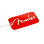 Fender  Luggage Tag Red Logo 9100289000
