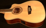 Washburn Folk Size Solid Top Spruce Acoustic Electric Guitar WF10SCE
