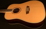 Washburn WD21S Solid Cedar Top, Rosewood Acoustic Guitar