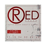 "Everly ""RED"" Copper Bronze Acoustic Strings REDS"