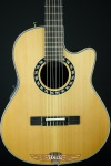 Ovation Elite AX Mid-Depth Cutaway Acoustic-Electric Nylon String 1773AX-4