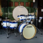 "Vintage Rogers Holiday 20"" Bass Drum in Blue Oyster Pearl UDS22"