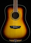 Washburn WD10S ATB Solid Top Dreanought Sunburst Finish WD10SATB