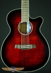 Ibanez AEG240 Thinbody Acoustic-Electric w/ USB AEG240TRS