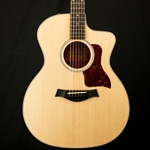 Taylor 214CE DLX Koa Deluxe Acoustic Guitar w/ ES System and Hardcase 214CE-KDLX