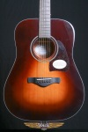 Ibanez AW400BS Dreadnought Acoustic Guitar w/ Solid Top