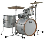 Ludwig CLUB DATE SE Silver Sparkle Jazzette Drum Shell Pack LR318JX0S