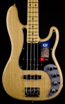 Fender American Elite Precision Bass Ash with Maple Neck - Natural Finish 0196902721