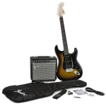 Squier Squire Strat Pack with Champion 20 Amp 0301624032