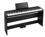 Korg Digital Home Piano with stand and 3 pedal system B1SPBK