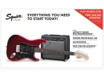 Squier Affinity HHS Electric Guitar Packages (Guitar & Amp) 0301814009