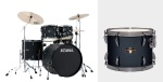 Tama Imperialstar 5 Piece Drum Set, Hardware & Meinl Cymbals IP52NC