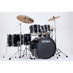 Tama Imperialstar 6pc Complete Kit w/ Meinl Cymbals - Hairline Black IP62CHBK