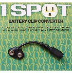 9 volt battery clip for one spot CBAT