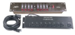 Mbt 8 Channel Lighting Controller w/2 zone chase RSP844
