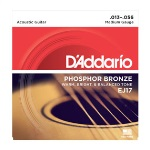 D'addario Medium Gauge Phosphor Bronze (13-56) EJ17