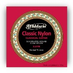 D'addario Classical Nylon set Silverplated Wound/ Clear Nylon - Normal Tension EJ27N