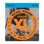 D'addario Nickel Wound Light (10 13 17 26 36 46) EXL110