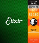 Elixir 5 String Light Long Nano 45-130 14202