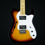Squier Vintage Modified '72 Tele Thinline, Maple Fingerboard, 3-Color Sunburst 0301280500