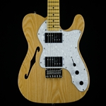 Squier Vintage Modified '72 Tele Thinline, Maple Fingerboard, Natural 0301280521