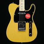 Squier Affinity Series Telecaster, Maple Fingerboard, Butterscotch Blonde Electric Guitar 0310203550