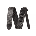 "Fender 2.5"" Leather Small Rivets Strap, Black 0990611006"