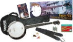 Washburn 5 String Banjo B8K Package with Gig Bag