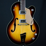 1968 Gretsch Double Anniversary Electric Archtop Guitar, Sunburst 6117 UEG34