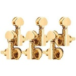 Grover Gold Mini Locking Tuning Machines 3+3 406G