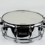 "Used Ross 14"" Chrome Snare USD8"