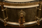 "Used Early 1910s's Ludwig Universal Model Separate Tension14"" x 5 Snare Drum USD10"