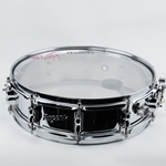 "Used Rogers 14"" x 3 1/2"" Chrome Piccolo Snare Drum USD28"