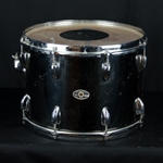 "Used 70's Slingerland  10 x 14"" Tom - Black Chrome UTOM32"