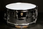 "Ludwig 14"" x 6.5"" LM402 Supraphonic Snare Drum Smooth Shell Imperial Lugs"