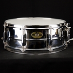 Used Pearl Mirror Chrome Steel Shell Snare Drum USD35