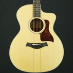 Taylor 214CE-DLX Deluxe Acoustic Electric Guitar w/ Hardcase