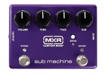 MXR Sub Machine Octave Fuzz Custom Shop Effects Pedal CSP210