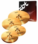 "Zildjian ZBT 5 Cymbal Box Set 14"" HH 14"" & 16"" Crash & 20"" Ride ZBTP390"
