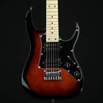 Ibanez Gio Mikro 3/4 Electric Guitar in Tobacco SB GRGM21MWNS