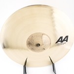 "Sabian AA 16"" Raw Bell Crash Cymbal 2160772B-SD"