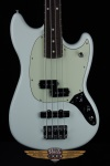 Fender Mustang Bass PJ, Pau Ferro Fingerboard, Sonic Blue Electric Bass Guitar 0144050572