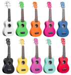 Amahi Penguin Student Ukuleles with carry bags PENUKE