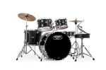 "Mapex ""Rebel"" 5 Piece Drum Set w/18"" kick with cymbals RB5844FTC"