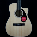 Fender CD-60SCE Acoustic Guitar, Fishman Pickup, Natural 0961704021