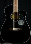 Fender CC-60SCE Acoustic Guitar - Black 0961710006