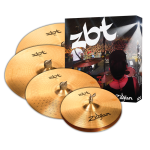 "Zildjian ZBT 5 Box Set - 14"" Hi-Hats, 16"" Crash, 20"" Ride w/ Free 18"" Crash ZBTP390-A"