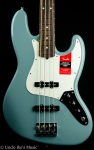 Fender American Professional Jazz Bass - Sonic Gray, Hard Case 0193900748