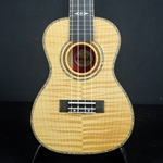 Amahi Uke Flamed Tiger Maple Top, Back & Sides C-01
